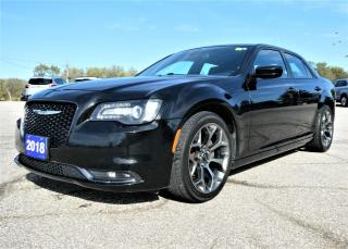 Used 2018 Chrysler 300 S | Navigation | Heated Seats | Remote Start for sale in Essex, ON