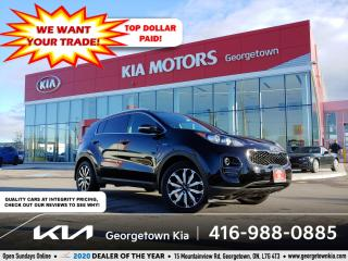 Used 2017 Kia Sportage EX AWD | B/UP CAM | HTD SEATS | 62K | B/T | for sale in Georgetown, ON
