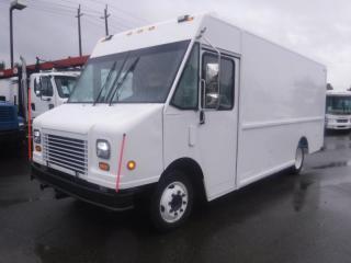 Used 2006 Freightliner MT45 Utilimaster 16 Foot Step Cargo Van Diesel with Shelving for sale in Burnaby, BC
