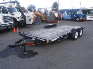 Used 2016 Rainbow Flat Deck Trailer 16 foot GVW: 3175 kg (7000 LB) for sale in Burnaby, BC