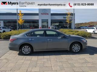 Used 2015 Nissan Altima 2.5 S  - Bluetooth -  Remote Start for sale in Ottawa, ON