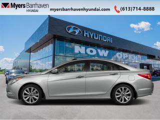 Used 2013 Hyundai Sonata SE  - Sunroof -  Leather Seats for sale in Nepean, ON