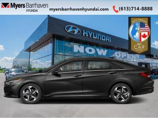New 2021 Hyundai Elantra Ultimate IVT  - Sunroof -  Leather Seats - $171 B/W for sale in Nepean, ON