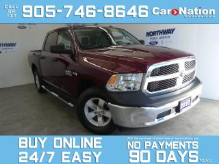 Used 2017 RAM 1500 4X4 | CREW CAB | TOUCHSCREEN | HEMI | ONLY 50 KM! for sale in Brantford, ON