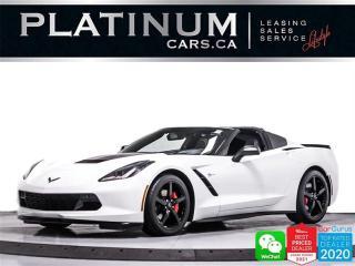 Used 2014 Chevrolet Corvette Stingray 2LT, 455HP, NAV, CAM, HEATED/VENTED SEATS for sale in Toronto, ON