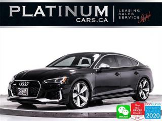 Used 2019 Audi RS 5 Sportback 2.9T quattro, ARMYTRIX EXHAUST, 444HP, TECHNIK for sale in Toronto, ON