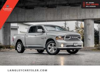 Used 2018 RAM 1500 Sport  Navi/ Leather/ Sunroof/ Backup/ Tonneau/ Accident Free for sale in Surrey, BC