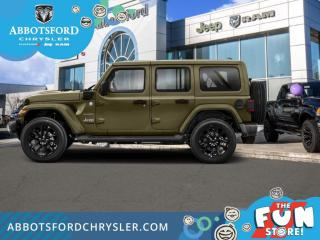 New 2021 Jeep Wrangler Unlimited Sahara 4xe  - Leather Seats - $420 B/W for sale in Abbotsford, BC