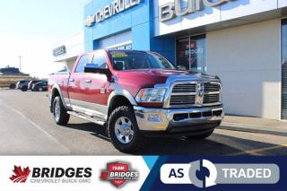 Used 2011 RAM 2500 Laramie**DVD Player | Tonneau Cover | Heated/Vented Seats | AS TRADED SPECIAL** for sale in North Battleford, SK