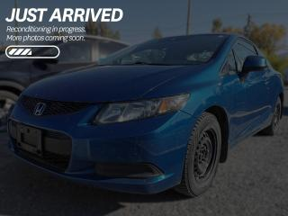 Used 2013 Honda Civic LX WELL MAINTAINED, LOCAL TRADE, PET-FREE for sale in Cranbrook, BC