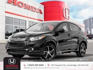 New 2022 Honda HR-V Sport APPLE CARPLAY™ & ANDROID AUTO™   HONDA SENSING TECHNOLOGIES   HEATED SEATS for sale in Cambridge, ON