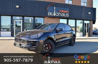 Used 2017 Porsche Macan GTS I RED INTERIOR I NAVI I PANO I SPORT CHRONO for sale in Concord, ON