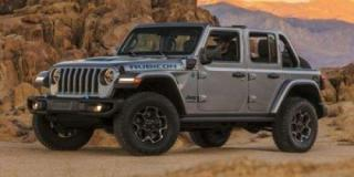 New 2021 Jeep Wrangler 4xe Unlimited Sahara for sale in Saskatoon, SK