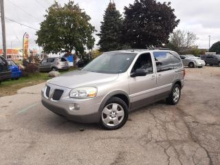 Used 2008 Pontiac Montana Sv6 *CERTIFIED*3 YEAR WARRANTY*NO ACCIDENTS* for sale in Kitchener, ON