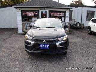Used 2017 Mitsubishi RVR FUEL EFFICIENT SE-EDITION 5 PASSENGER 2.0L - DOHC.. TOUCH SCREEN DISPLAY.. CD/AUX/USB INPUT.. BLUETOOTH SYSTEM.. BACK-UP CAMERA.. KEYLESS ENTRY.. for sale in Bradford, ON