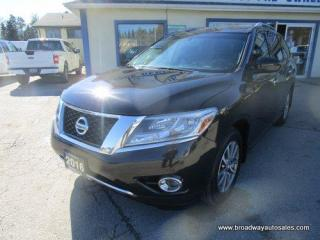 Used 2016 Nissan Pathfinder FOUR-WHEEL DRIVE SV-EDITION 7 PASSENGER 3.5L - V6.. BENCH & THIRD ROW.. HEATED SEATS & WHEEL.. BACK-UP CAMERA.. POWER TAILGATE.. KEYLESS ENTRY.. for sale in Bradford, ON