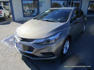 Used 2017 Chevrolet Cruze GAS SAVING LT-EDITION 5 PASSENGER 1.4L - TURBO.. HEATED SEATS.. BACK-UP CAMERA.. BLUETOOTH SYSTEM.. TOUCH SCREEN DISPLAY.. KEYLESS ENTRY.. for sale in Bradford, ON