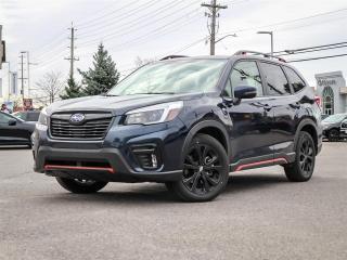 Used 2021 Subaru Forester AWD SPORT PKG, CVT AUTO, EYESIGHT for sale in Ottawa, ON