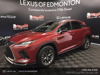 New 2022 Lexus RX 350 F Sport Series 3 for sale in Edmonton, AB