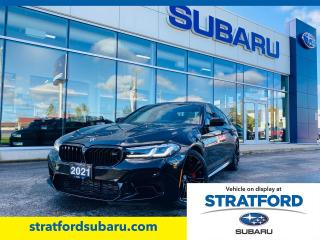 Used 2021 BMW M5 Competition|Titanium Exhaust|Carbon Fiber Roof|BMW Display Key for sale in Stratford, ON