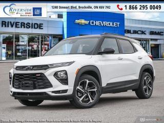 New 2022 Chevrolet TrailBlazer RS for sale in Brockville, ON