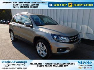 Used 2015 Volkswagen Tiguan Comforline-4WD-B/UP CAMERA-ROOF-LEATHER-LOW PAYMENT!!! for sale in Kentville, NS