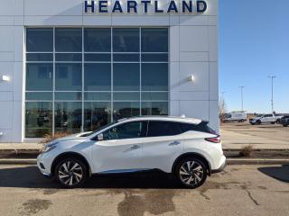Used 2017 Nissan Murano Platinum PANORAMIC SUNROOF | HEATED & COOLED SEATS | HEATED STEERING WHEEL | REMOTE START-USED EDMONTON NISSA for sale in Fort Saskatchewan, AB
