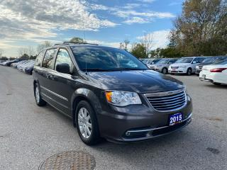 Used 2015 Chrysler Town & Country TOURING for sale in London, ON