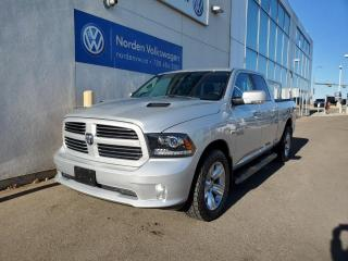 Used 2017 RAM 1500 SPORT CREW CAB | 5.7L HEMI | HTD LEATHER | LOW KMS! for sale in Edmonton, AB