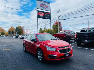 Used 2016 Chevrolet Cruze LS / ONLY $80 Bi-Weekly! / for sale in Truro, NS