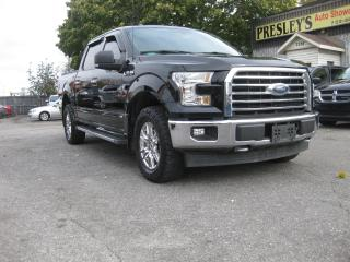 Used 2017 Ford F-150 XLT XTR 4x4 Supercrew 5.0L V8 Bluetooth PL PM PW for sale in Ottawa, ON