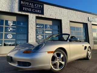 Used 2002 Porsche Boxster 5-SPEED MANUAL/ CLEAN CARFAX/ CERTIFIED for sale in Guelph, ON
