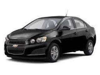 Used 2012 Chevrolet Sonic LT for sale in Saint John, NB