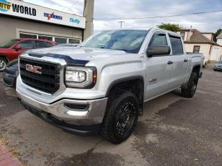 Used 2018 GMC Sierra 1500 CREW CAB**REARVIEW CAM** for sale in Caledonia, ON