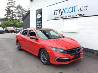 Used 2021 Honda Civic EX SUNROOF, PWR HEATED SEAT, ALLOYS, APPLE CAR PLAY!! for sale in Kingston, ON