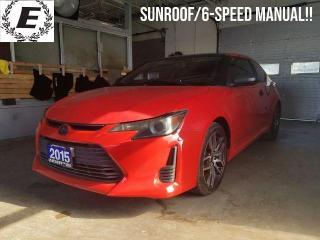 Used 2015 Scion tC SPORT   SUNROOF/6-SPEED MANUAL!! for sale in Barrie, ON