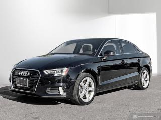 Used 2019 Audi A3 45 Komfort Komfort 2.0T quattro w/ TPMS|Phonebox|Rear Cam for sale in North York, ON