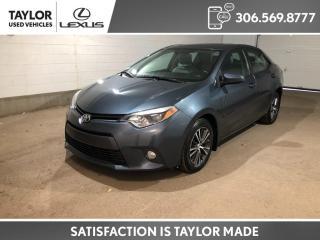 Used 2016 Toyota Corolla LE for sale in Regina, SK