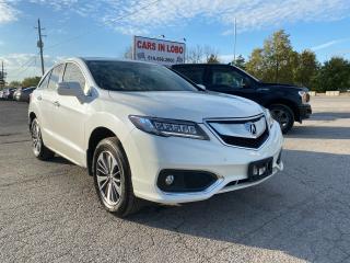 Used 2016 Acura RDX elite pkg for sale in Komoka, ON