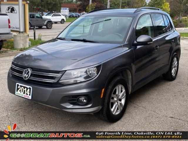 2014 Volkswagen Tiguan Trendline|AVG KM|NO ACCIDENT|AWD|CERTIFIED