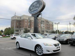Used 2008 Lexus IS 250 4DR SDN AUTO AWD for sale in Burlington, ON
