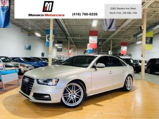 Used 2013 Audi A4 PREMIUM PLUS S-LINE | NAVI |CAM |BSM |PUSH START for sale in North York, ON