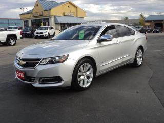 Used 2015 Chevrolet Impala LTZ 3.6L MoonRoof LeatherHeatedCooling BackCam for sale in Brantford, ON
