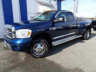 Used 2008 Dodge Ram 3500 Laramie 4x4, Diesel Dually, BC Truck, 101,000 Kms! for sale in Langley, BC