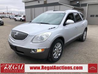 Used 2012 Buick Enclave CXL 1SC for sale in Calgary, AB