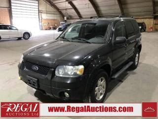 Used 2007 Ford Escape XLT for sale in Calgary, AB