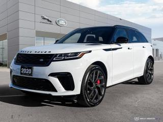 Used 2020 Land Rover Range Rover Velar SV Autobiography Dynamic * You Want This * for sale in Winnipeg, MB