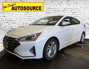 Used 2020 Hyundai Elantra Preferred w/Sun & Safety Package for sale in Peterborough, ON