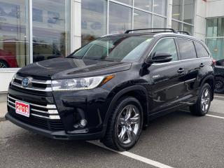 Used 2019 Toyota Highlander HYBRID Limited LIMITED+HITCH+SNOW TIRES! for sale in Cobourg, ON