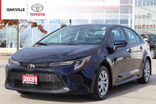 Used 2021 Toyota Corolla LE Toyota Certified with Clean Carfax for sale in Oakville, ON